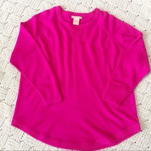 Nordstrom's Sweet Romeo Hot Pink Sweater